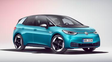 Volkswagen ID.3 - blue front