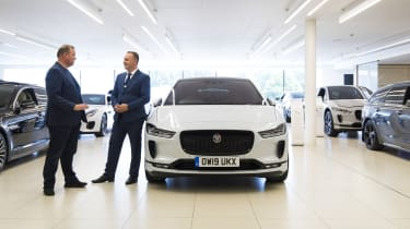 Jaguar I-Pace - front showroom