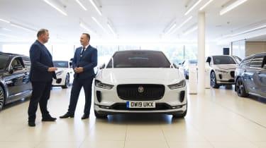 Jaguar I-Pace - front showroom