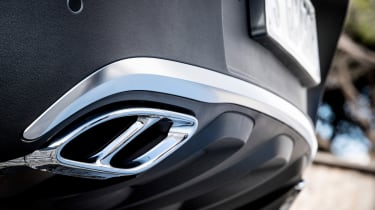 Mercedes-AMG GLC 43 Coupe exhausts