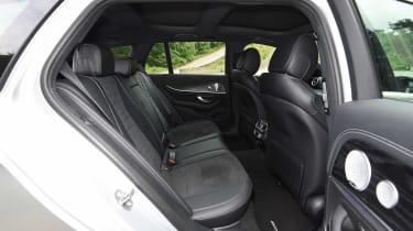 Mercedes E-Class Estate - rear seats