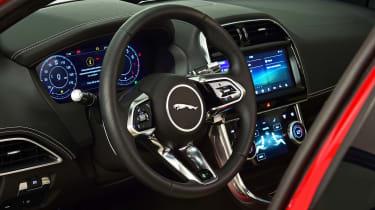 Jaguar XE - cabin