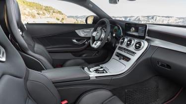 New Mercedes C-Class Coupe - interior