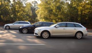 Audi A6 Avant vs rivals