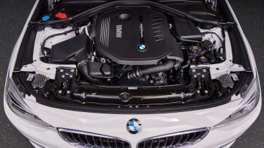 BMW 340i GT - engine