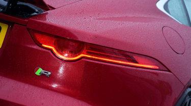 Jaguar F-Type R - rear light detail