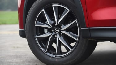 Mazda CX-5 SUV - wheel