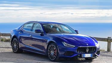 Maserati Ghibli facelift - front static