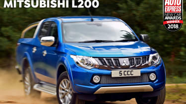 Mitsubishi L200 - 2018 Pick-up of the Year