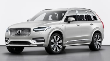 Volvo XC90 facelift - front 3/4