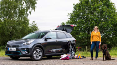 Kia e-Niro long termer - second report header
