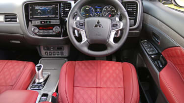 New Mitsubishi Outlander PHEV interior