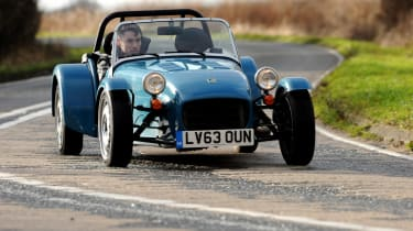 Caterham 7 160 front action
