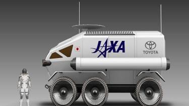 Toyota lunar vehicle - side