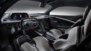 Lotus Evija cockpit