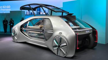 Renault EZ-GO concept - Geneva rear