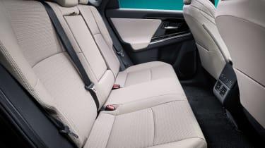 Toyota bZ4X concept - rear seats
