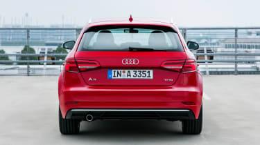 Audi A3 Sportback - full rear static