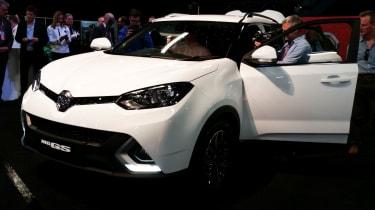 MG GS at London Motor Show