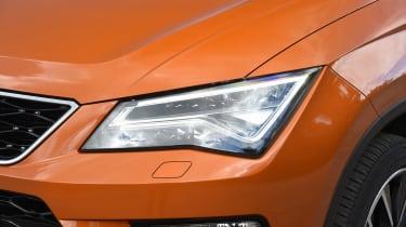 SEAT Ateca - front light detail