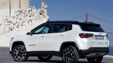 2017 Jeep Compass - rear static quarter