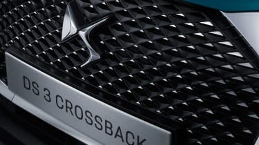 DS 3 Crossback - grille