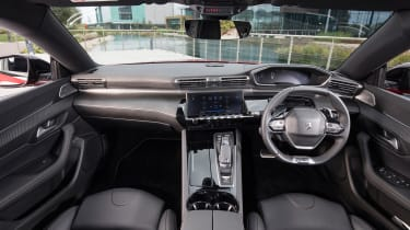 New Peugeot 508 GT 1.6 turbo front interior