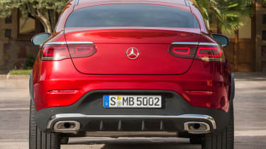 Mercedes GLC Coupe - rear static