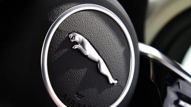 Jaguar I-Pace - steering wheel detail