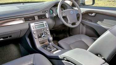 Interior is stylish and comfortable
