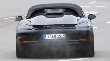 Porsche 718 Boxster Spyder - rear