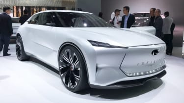 Infiniti Qs Inspiration concept - Shanghai front