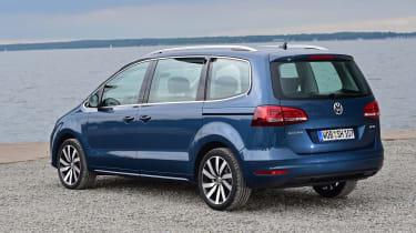 Volkswagen Sharan rear 3q