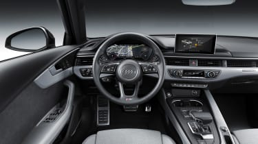 Audi A4 facelift - dash