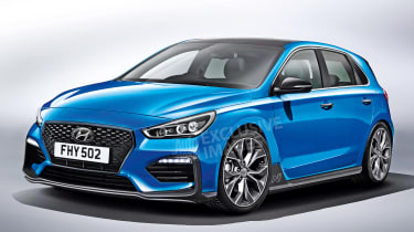 Hyundai i30 N - exclusive image (watermarked)