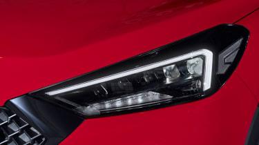 Hyundai Tucson N Line - headlight