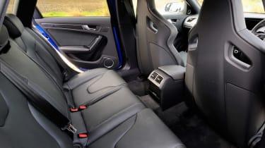 Audi RS4 rear seats