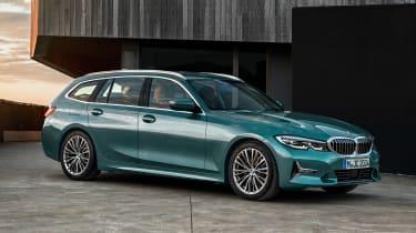 BMW 3 Series Touring mild-hybrid - front