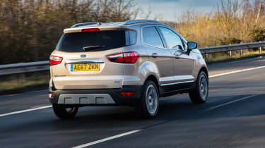 Ford EcoSport - rear action