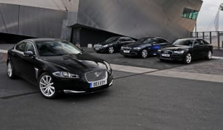 Jaguar XF vs rivals