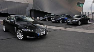 Jaguar XF vs rivals