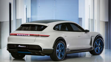 Porsche Mission E Cross Turismo - rear