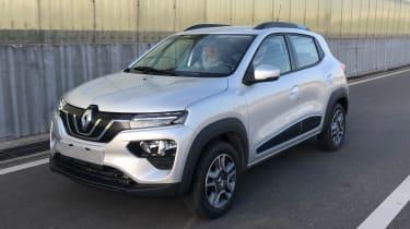 Renault K-ZE - front static
