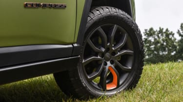 Jeep's wildest concepts driven - Trailpass alloy wheels