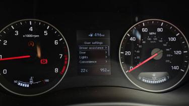 Hyundai i20 - dials