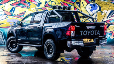 Toyota Hilux Invincible 50 Limited Edition - rear static