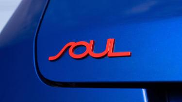 Kia Soul EV Boardmasters Edition - Soul badge