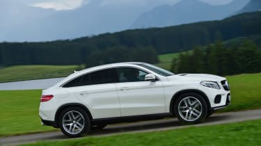 Mercedes GLE Coupe 2015 side