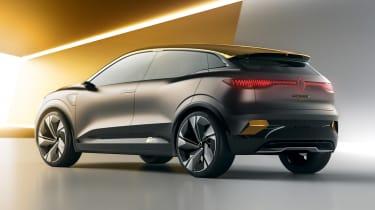 Renault Megane eVision - rear studio