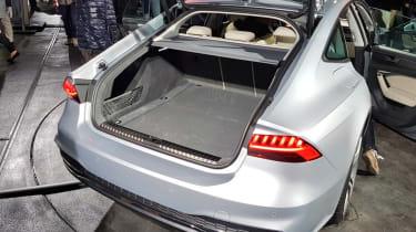 Audi A7 Sportback - reveal boot